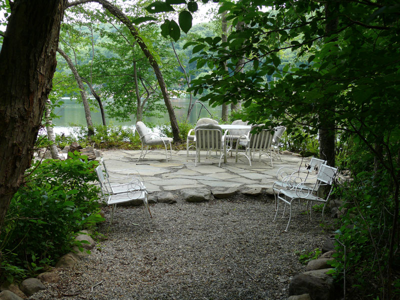pin crushed stone patio on pinterest